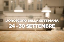 L'oroscopo della settimana, 24 - 30 Settembre