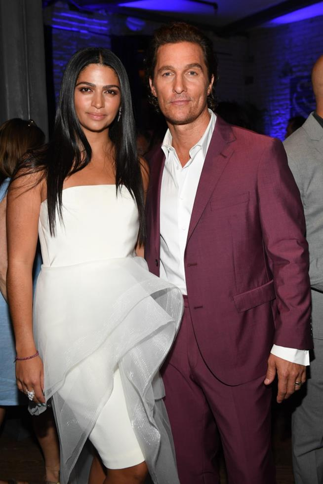Matthew McConaughey e la moglie
