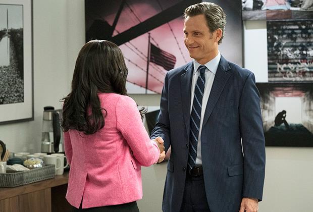 Michaela e Fitz Grant in una scena