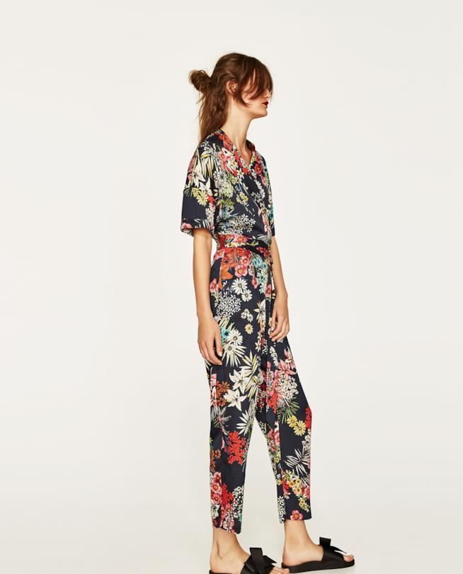 Jumpsuit a fiori di Zara
