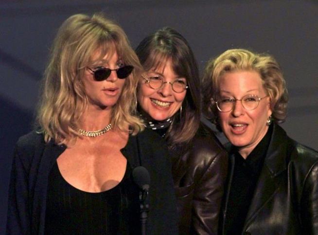 Goldie Hawn, Diane Keaton e Bette Midler
