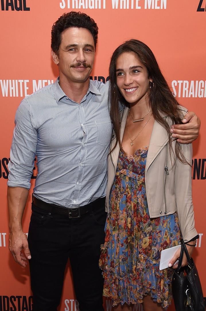 James Franco con la compagna Isabel Pakzad