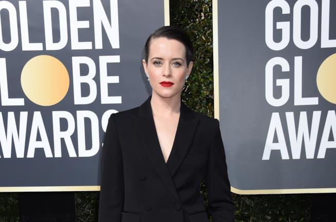 Claire Foy ai Golden Globes 2018