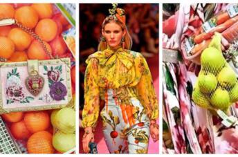 Vestiti, borse e accessori con la stampa della frutta per l'estate 2018