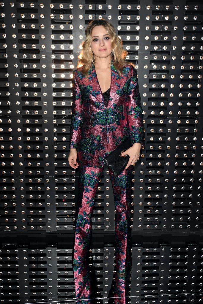 L'attrice Carolina Crescentini da Gucci