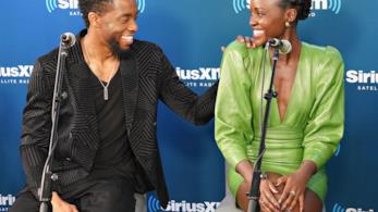Lupita Nyong'o e Chadwick Boseman