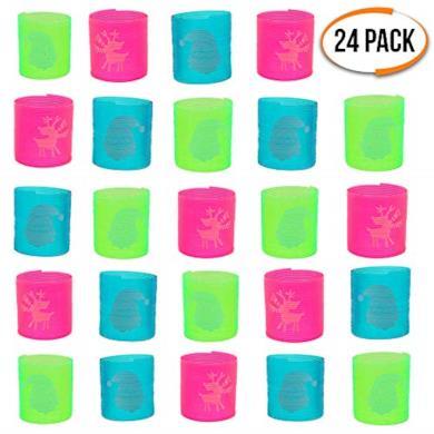 24 Molle a Tema Natalizio in 3 Colori