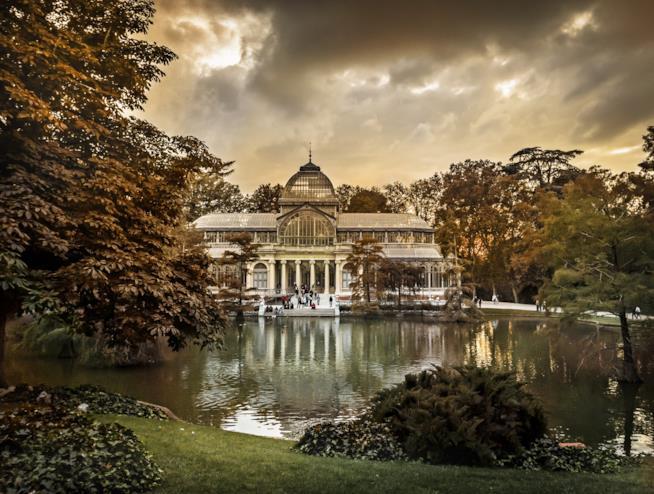 Il Palacio de Cristal nel Retiro