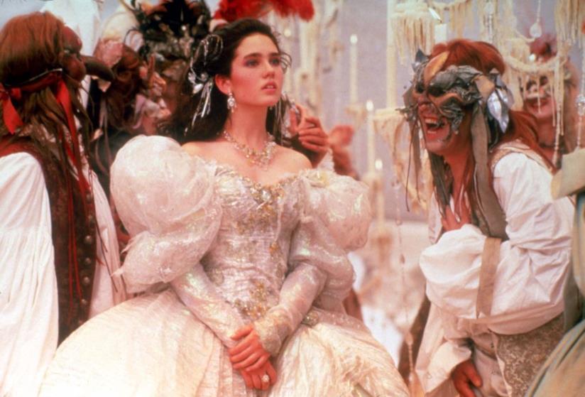 Jennifer Connelly in una scena di Labyrinth - Dove tutto è possibile