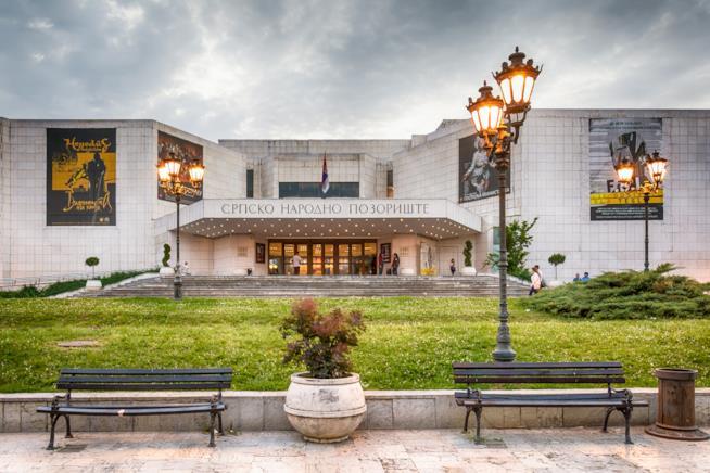 Le architetture razionali del Teatro Nazionale Serbo