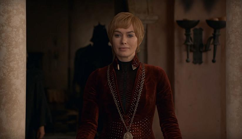 Cersei Lannister in Game of Thrones 8x05