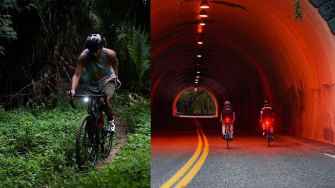 Le migliori luci per bici