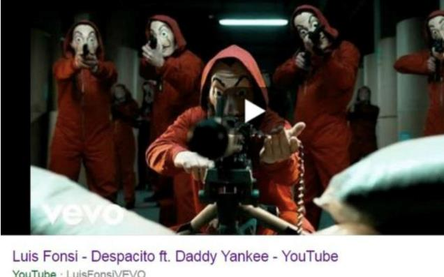 Despacito La casa di carta