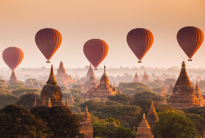 viaggi antistress Birmania