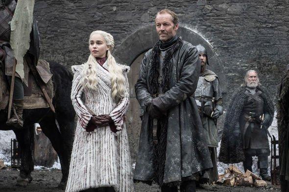 Una scena di Game of Thrones 8x01