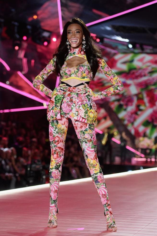 Winnie Harlow al Victoria's Secret Fashion Show
