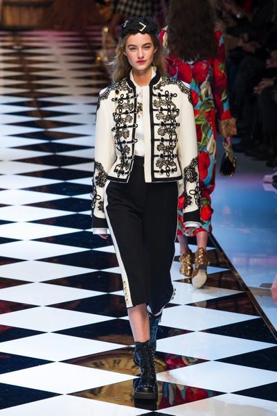 Dolce e Gabbana e lo stile militare