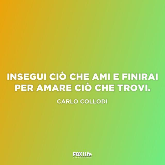 Frase di Carlo Collodi