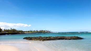 Lung le spiagge hawaiiane