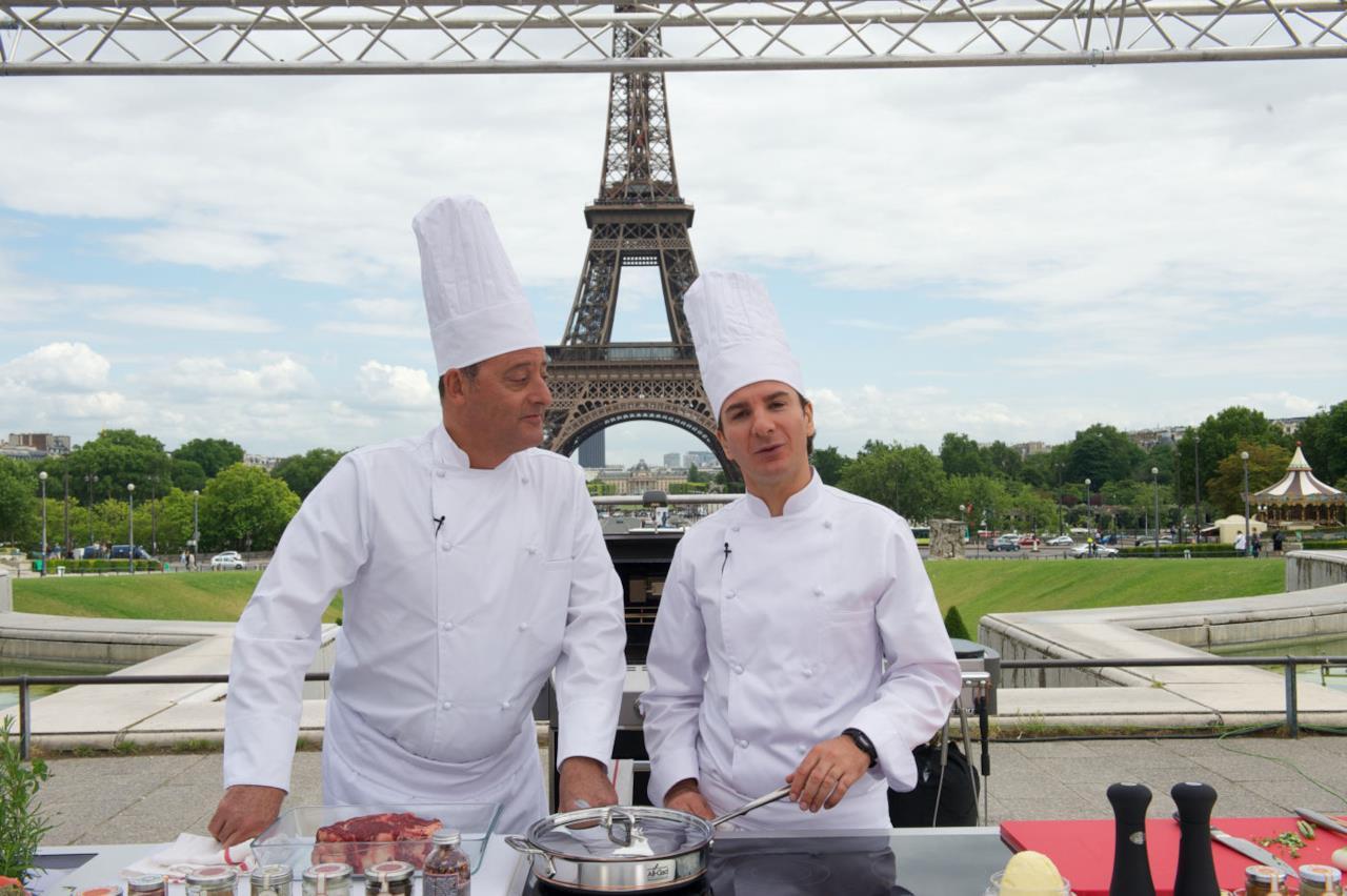 Jean Reno e Michael Youn in Chef di Daniel Cohen (2012)