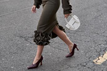 Modello di scarpe granny in stile street