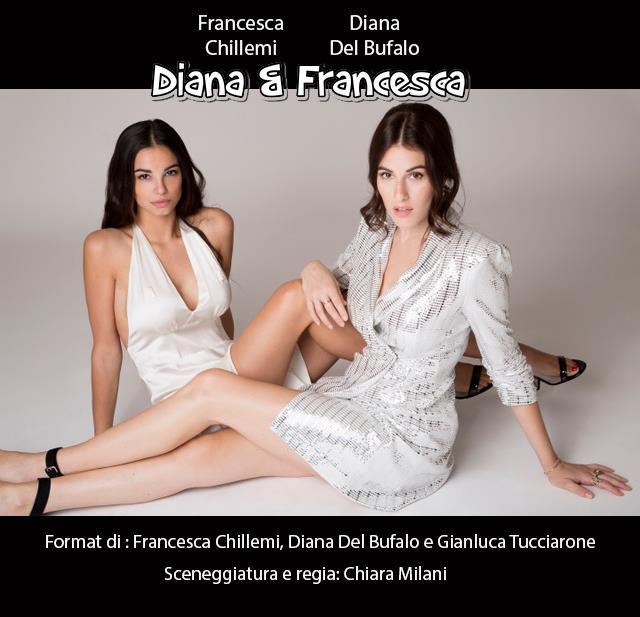 Le attrici Francesca Chillemi e Diana Del Bufalo