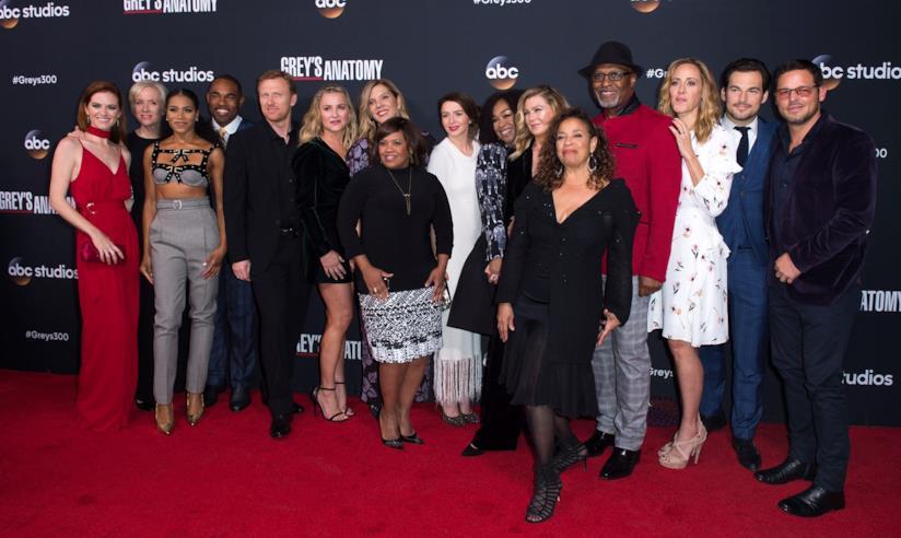 Cast Grey's Anatomy - Il cast di Grey's Anatomy al completo