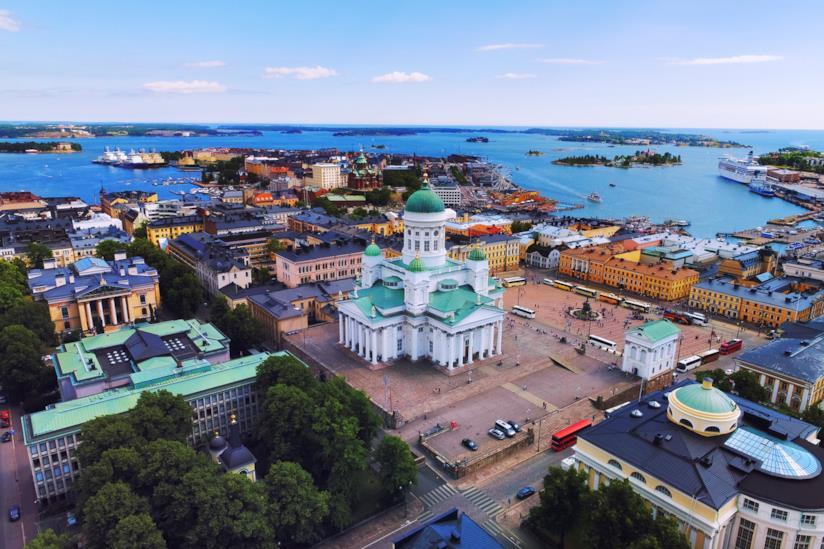 Piazza del Senato a Helsinki