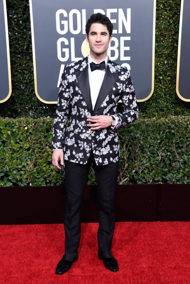 Darren Criss sul red carpet