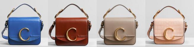 Collage di borse Chloé C