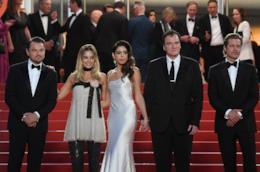 Leonardo Di Caprio, Margot Robbie, Quentin Tarantino, Brad Pitt