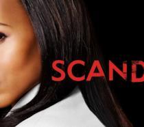 Primo piano della protagonista di Scandal
