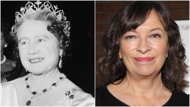 Regina Madre e Marion Bailey