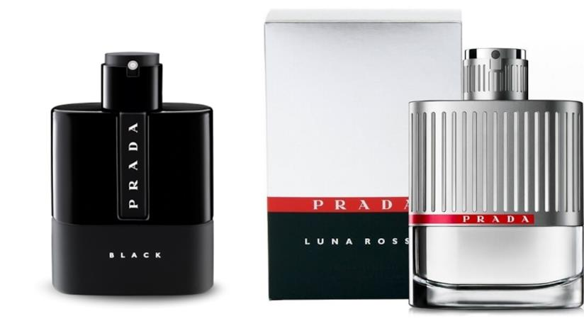 Prada Black è il nuovo profumo della primavera di Prada, della collezione Luna rossa