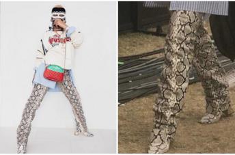 Rihanna e gli stivali pitonati al Coachella