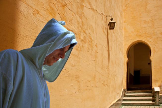 Interno del Mausoleo di Moulay Ismail