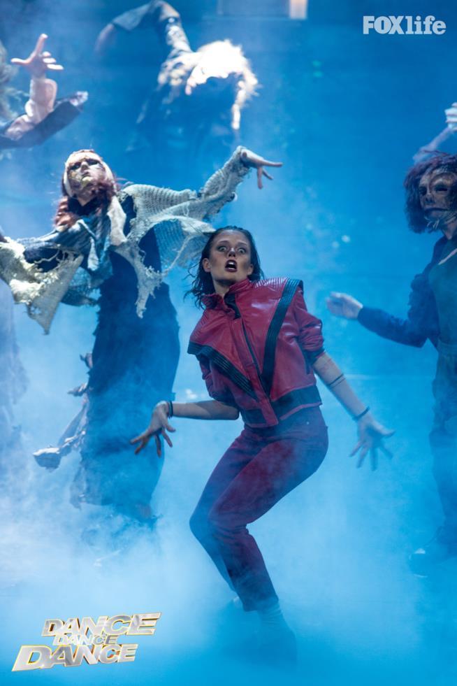 Silvia Provvedi, esibizione ottavo serale Dance Dance Dance 2