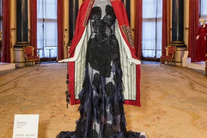Il vestito realizzato da Behno