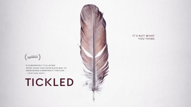 David Farrier Dylan Reeve e il loro film Tickled che parla di una rigorosa gara di solletico