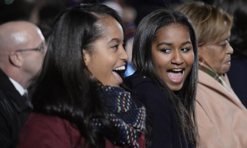 Sasha e Malia Obama