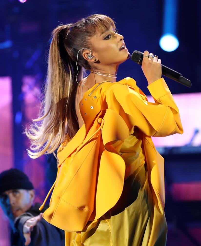 Ariana Grande durante un concerto