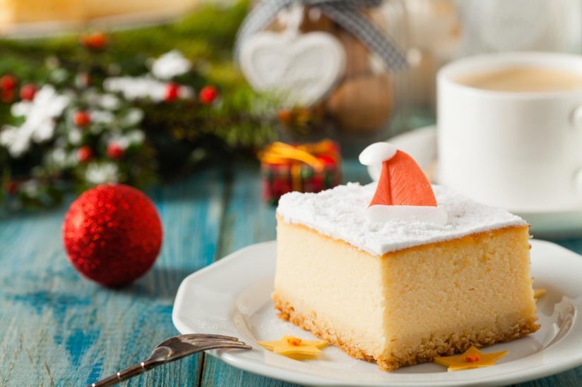 Cheesecake natalizia