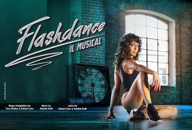 Manifesto Flashdance il Musical