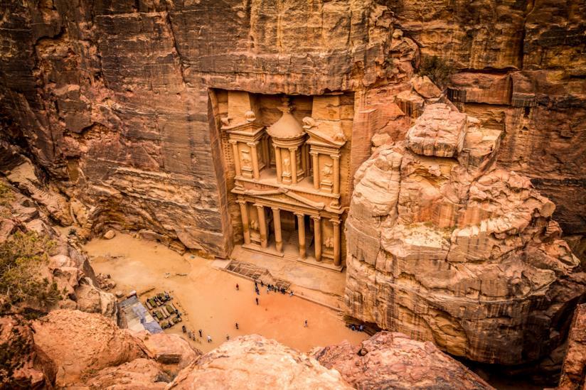 Vista di Petra