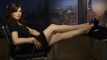 Julianna Marguiles nei panni di Alicia Florrick