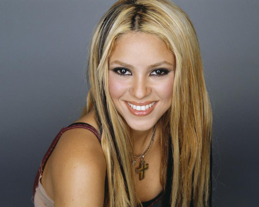 La pop star Shakira