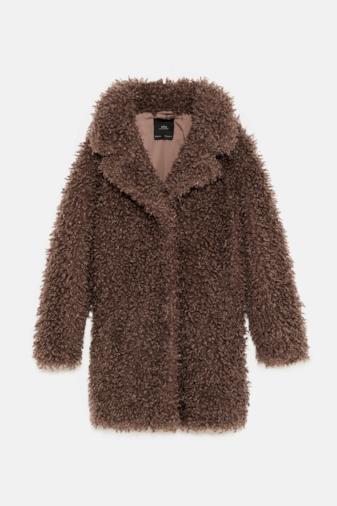 Cappotto pelliccia sintetica