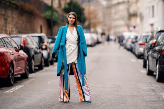 Pantaloni a palazzo a righe: i modelli più cool