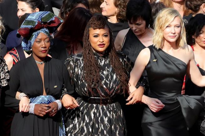 Cate Blanchett e le sue colleghe a Cannes
