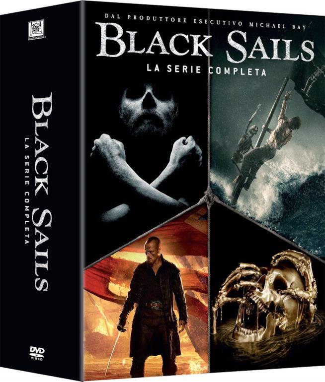 Cofanetto DVD di Black Sails - Stagioni 1-4